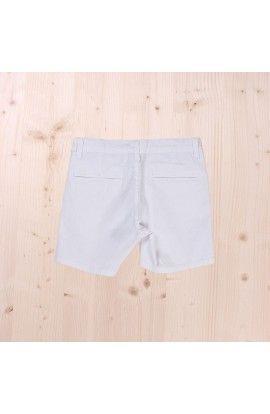 Pantalon corto blanco dadati
