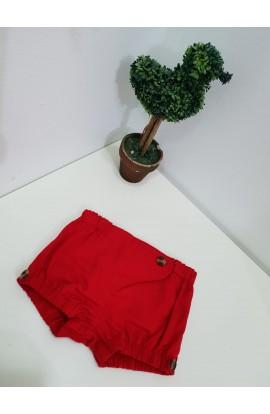 Short Rojo P.Mendiluce