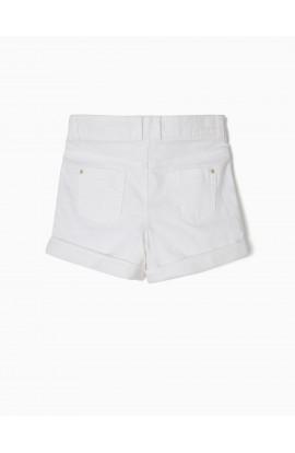 Short Blanco Niña ZIPPY