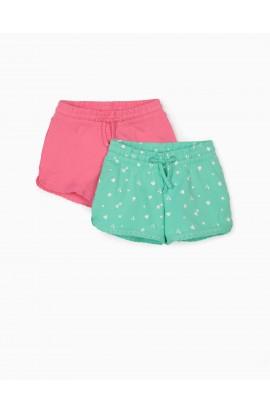 Pack 2 Calzonas Rosa y Verde aguya