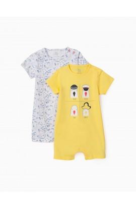 Pack 2 pijamas Seagulls bebé ZIPPY