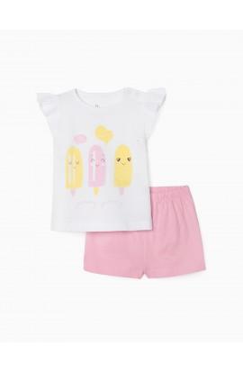 Pijama bb niña Heladitos ZIPPY