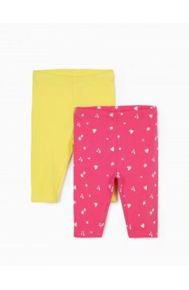Pack leggins corazones bebé ZIPPY
