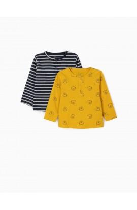 Pack 2 camisetas bebé Osito ZIPPY