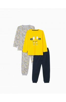 Pack 2 Pijamas Be Positive Niño ZIPPY