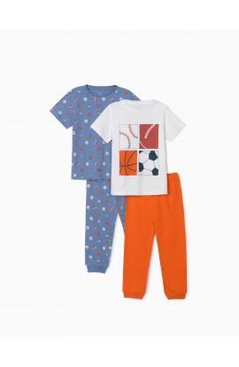 Pack 2 Pijamas Sport Niño ZIPPY