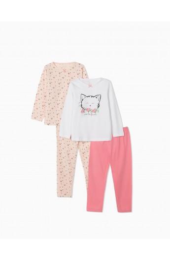 Pijama Cute Cat Niña ZIPPY